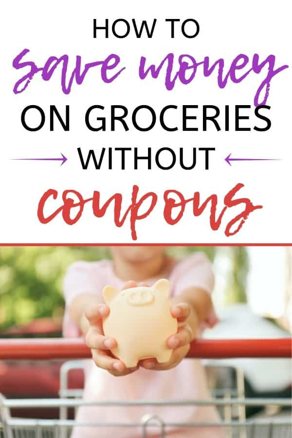 How we save $700 a month on groceries without a single coupon. How to save money on groceries every month. The one trick I use to save $700/month on groceries. How to cut your grocery bill in half when you suck at budgeting. How to use meal planning to save money on groceries. Frugal living tips to lower your grocery bill. How to save money on groceries without coupons.