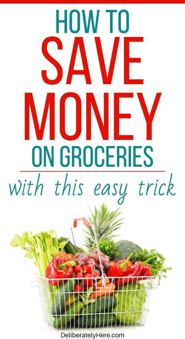 How to save money on groceries on a low income when you're living paycheck to paycheck. How to save money on groceries with frugal living and meal planning. Tips to save money on groceries fast. How to save money on groceries without coupons. Simple ways to save money on groceries every month when feeding a big family.