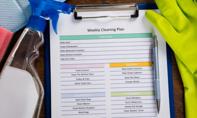 Simple Weekly Cleaning Schedule to Keep Your House Spotless