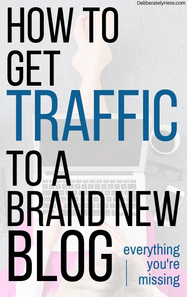 Exactly what you need to know to get traffic to a brand new blog. The exact techniques I used to go from 90 - 2,000 pageviews a day on my blog! Learn how to start a successful blog. How to make money from a blog. How to get traffic to a new blog. How to get readers to a new blog. Learn how to grow your new blog fast. How to get pageviews to a new blog.