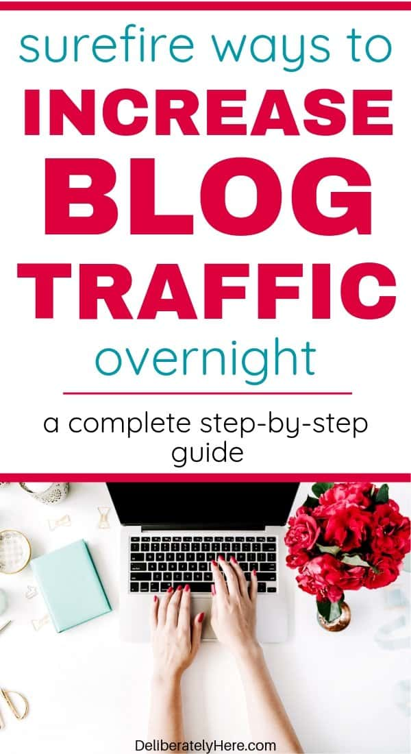 3 ways how to get traffic to a new blog. What I did to grow my new blog into a full time business. How to get blog traffic from Pinterest. How to get blog traffic tips. Easy ways to get free blog traffic. How to start a new blog and make money from home. How I grew my blog to earning a full time income in one year. How to start a blog. How to increase blog traffic. How to increase traffic to a new blog.
