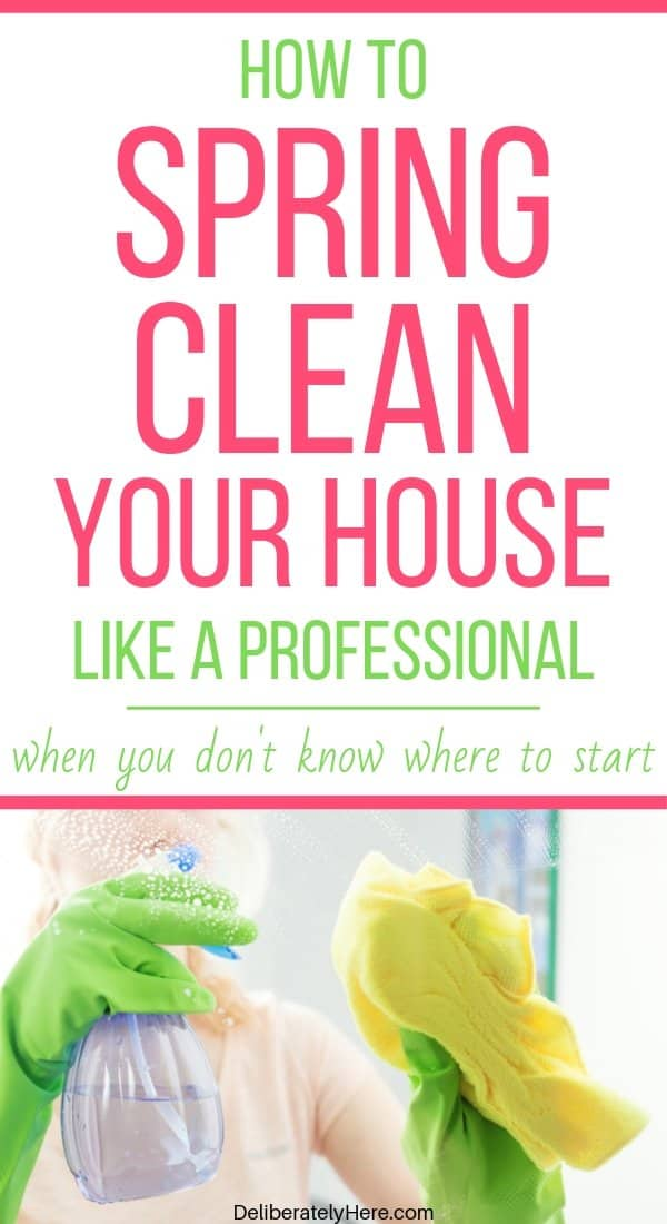 Spring cleaning tips for the busy mom. 6 tips to help you spring clean your house fast. How to spring clean your house fast. How to spring clean your home in one day. Free printable spring cleaning checklist. How to start spring cleaning when your house is a mess. How to clean your house when you're overwhelmed by the mess. House cleaning checklist for busy moms. Easy tips to spring clean your house today.