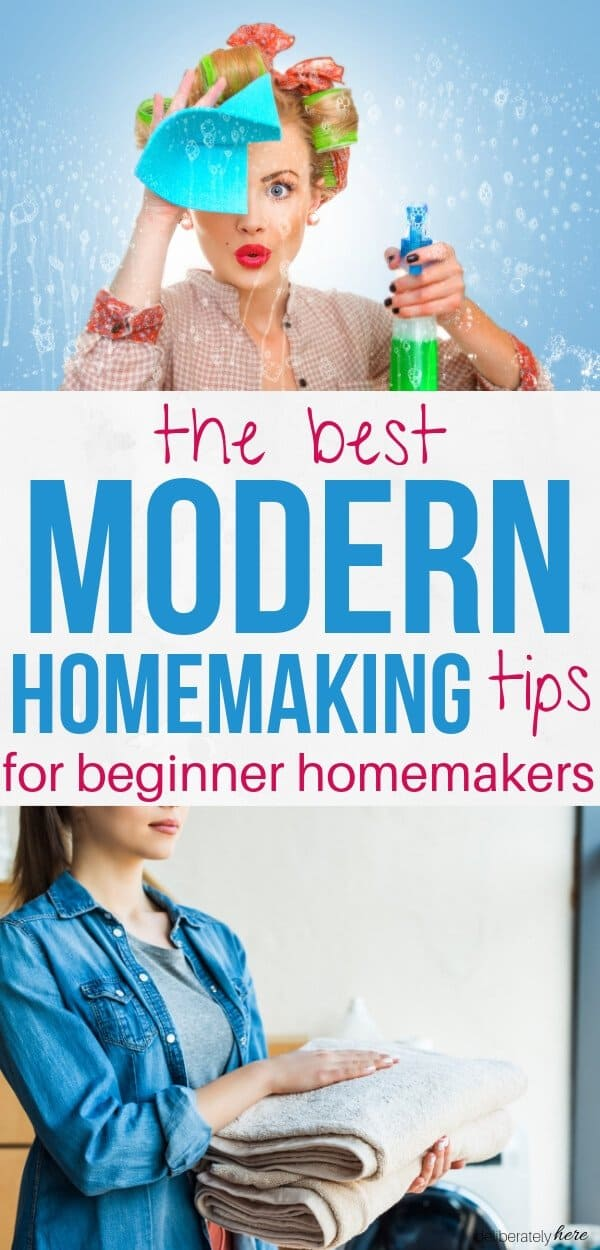 modern homemaking tips