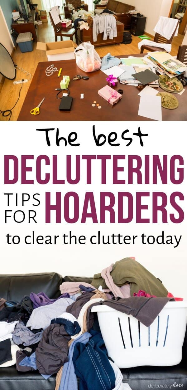 messy home hoarders house declutter the mess