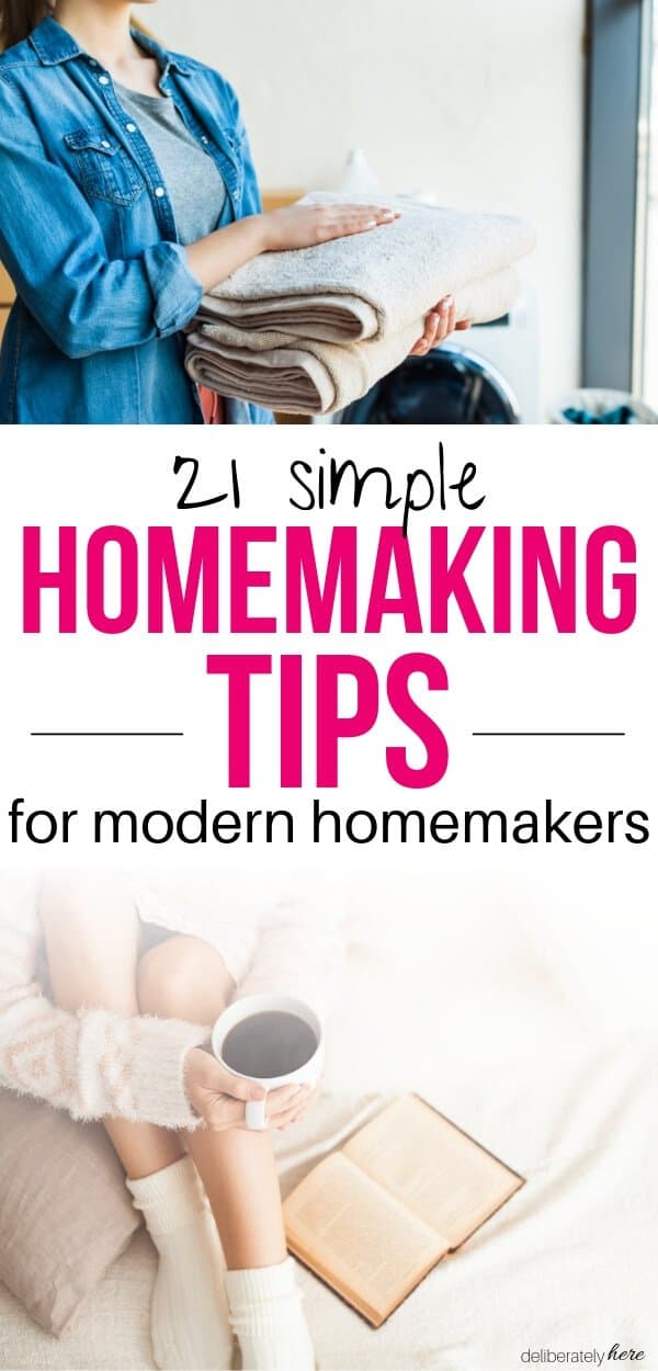 modern homemaking tips from grandma