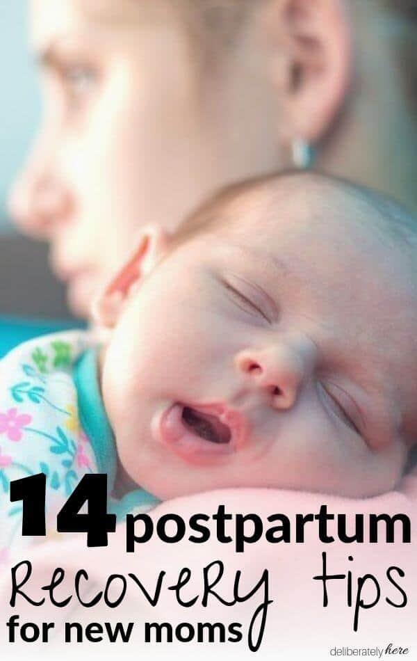 postpartum recovery new mom