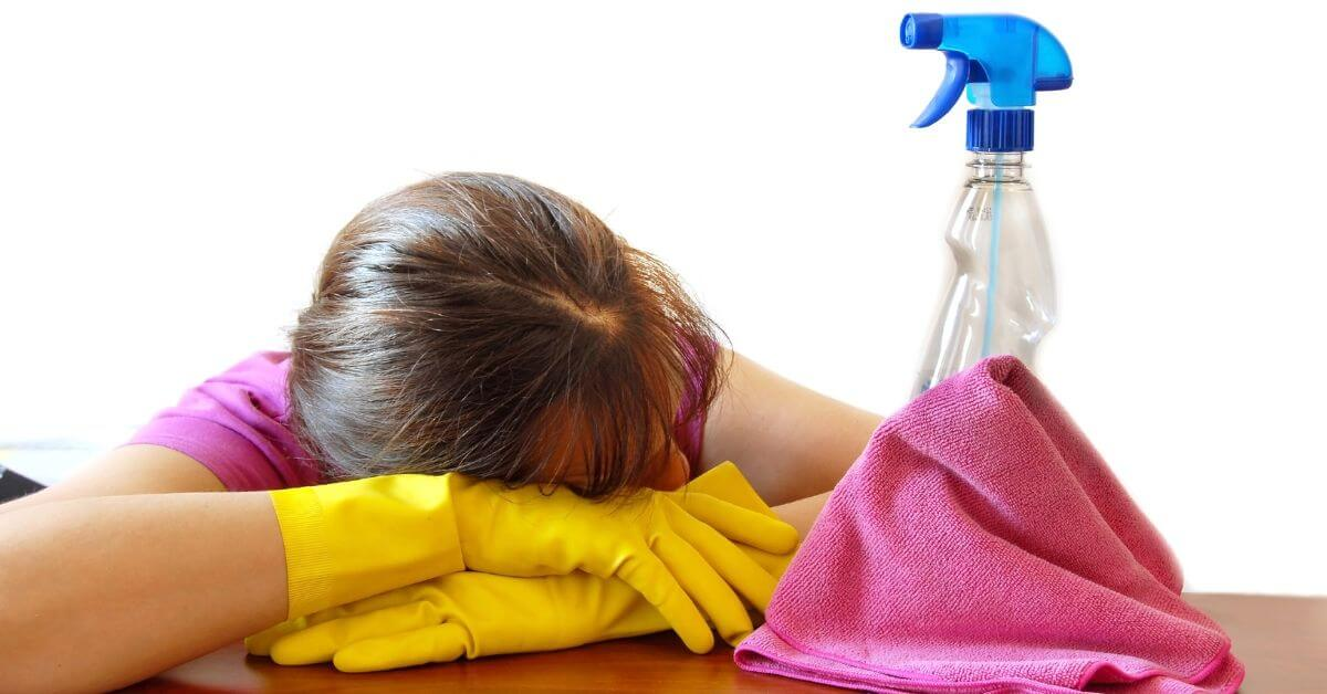 How to Spend Less Time Cleaning & Still Have a Clean House