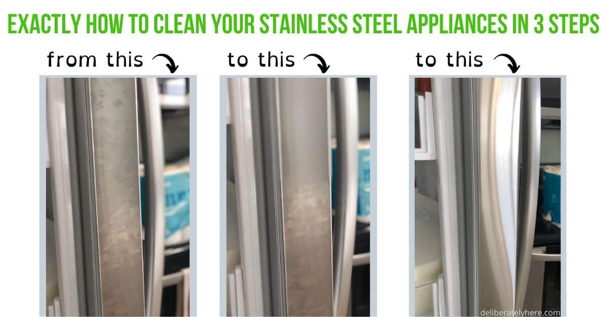 How To Clean Stainless Steel Appliances With Only 3 Supplies