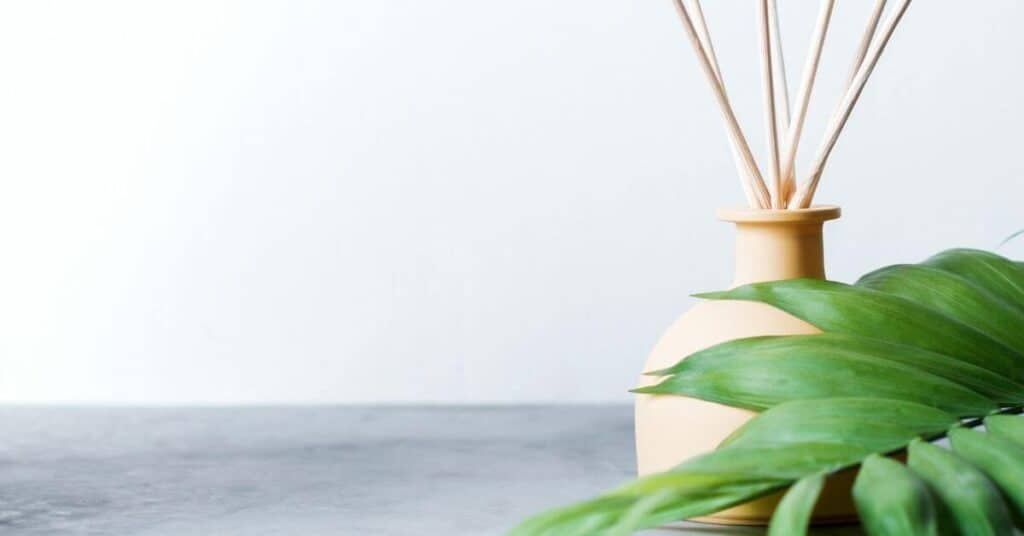 make your house smell good with a reed diffuser