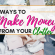 6 Ways to Make Money From Your Clutter